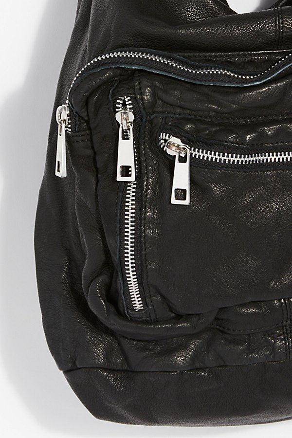 Slide View 3: Chelsea Convertible Leather Backpack