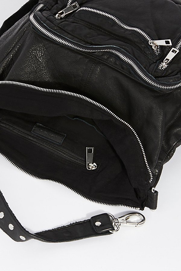 Slide View 6: Chelsea Convertible Leather Backpack