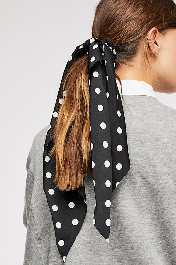 Slide View 1: Polka Dot Scarf Pony