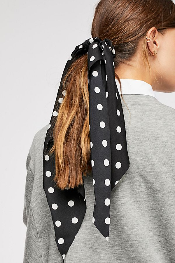 Free People Polka Dot scarf