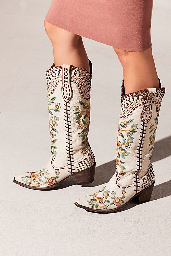 Floral Western Boot | Free People