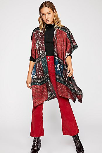 Kimonos For Women Free People