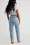Thumbnail View 6: CRVY High-Rise Vintage Straight Jeans