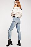 Thumbnail View 1: CRVY High-Rise Vintage Straight Jeans