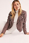 Thumbnail View 1: Delilah Cropped Moto Jacket