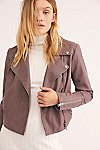 Thumbnail View 2: Delilah Cropped Moto Jacket