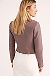 Thumbnail View 3: Delilah Cropped Moto Jacket
