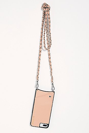 Lucy Pebble Leather Crossbody Case