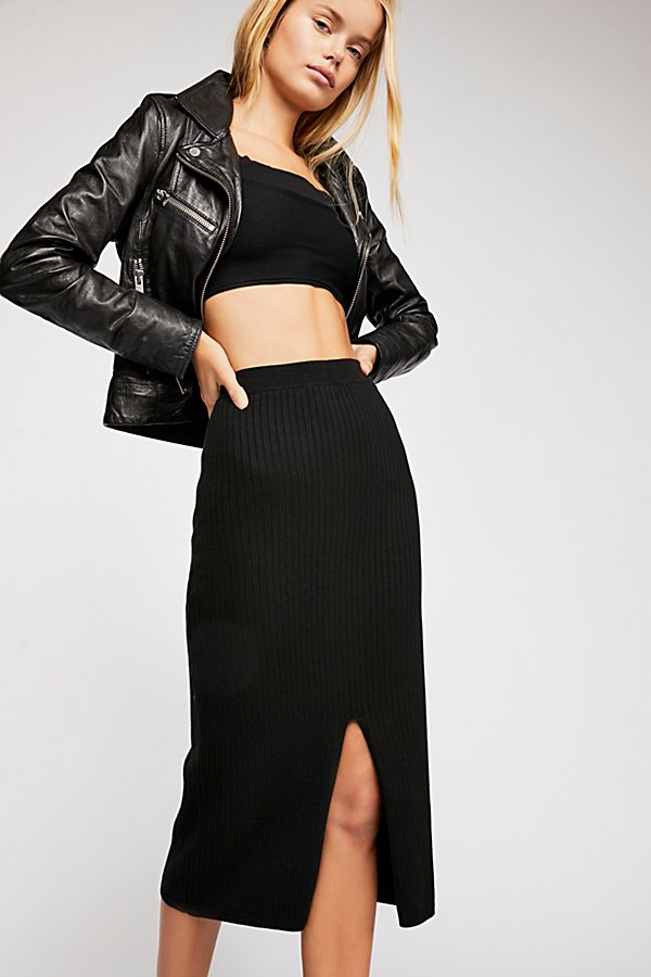 Slide View 1: Skyline Midi Skirt