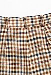 Thumbnail View 4: Vintage '80s Plaid Wool Shorts