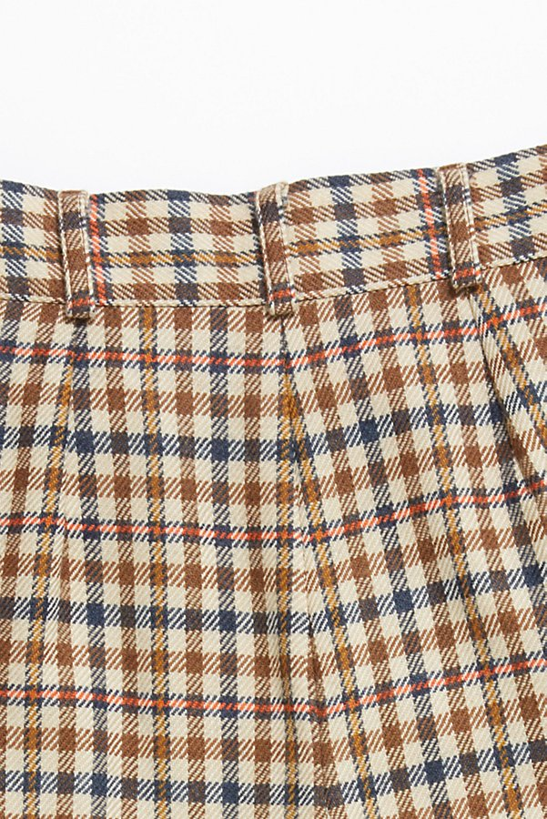 Slide View 4: Vintage '80s Plaid Wool Shorts