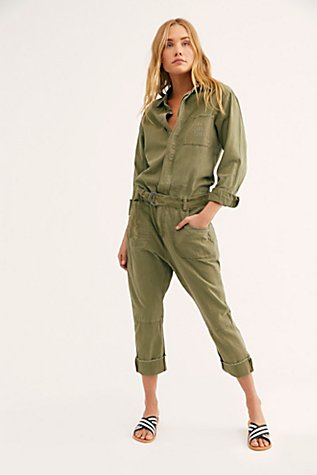 Boyfriend Utility Suit by Free People