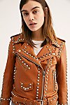 Thumbnail View 4: Western Dome Studded Easy Rider Jacket