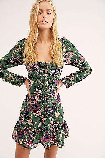 Forever Printed Mini Dress