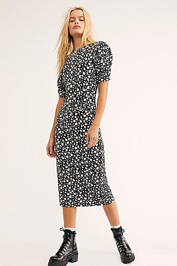 Rosie Knit Midi Dress
