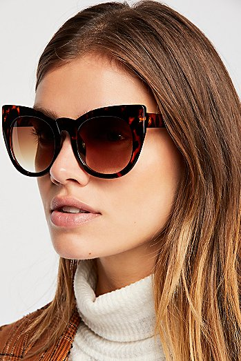Up In The Air Cat Eye Sunglasses