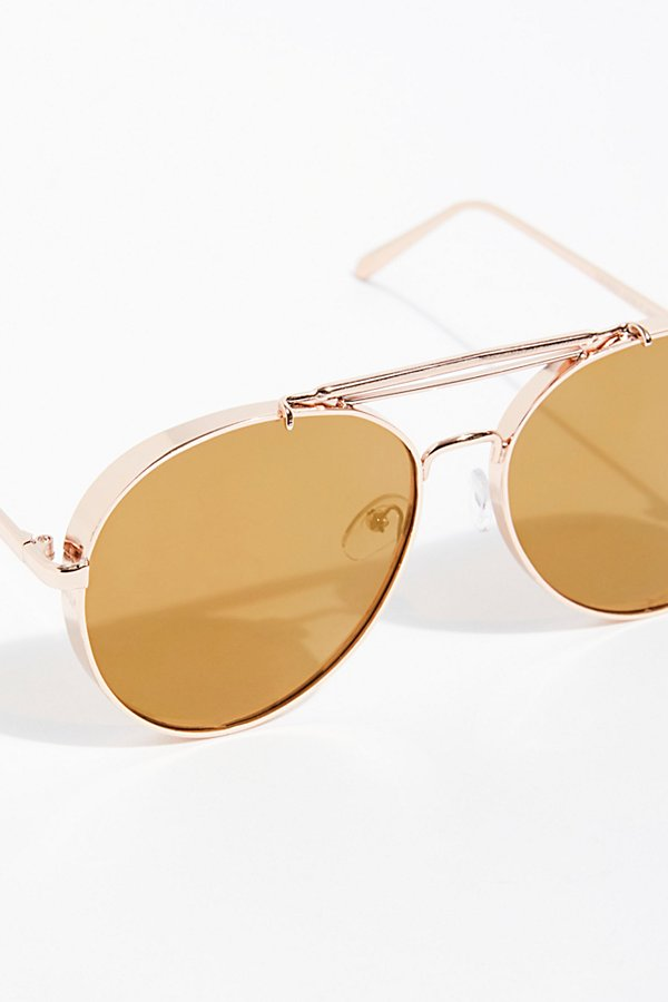 Slide View 3: Viva Las Aviator Sunglasses