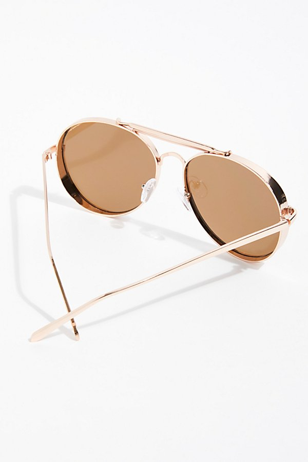 Slide View 4: Viva Las Aviator Sunglasses