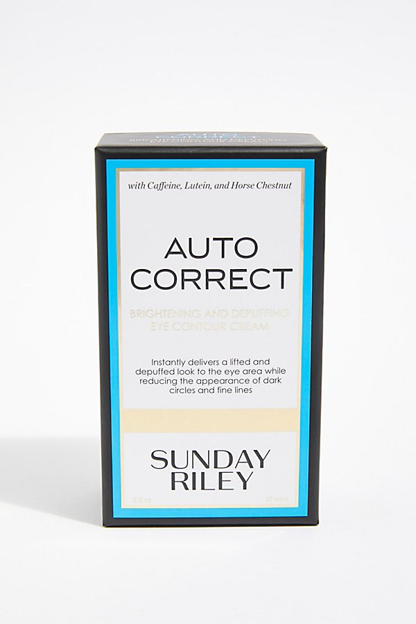 Slide View 3: Sunday Riley Auto Correct Brightening and Depuffing Eye Cream