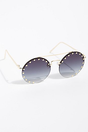 Moonlight Studed Sunglasses