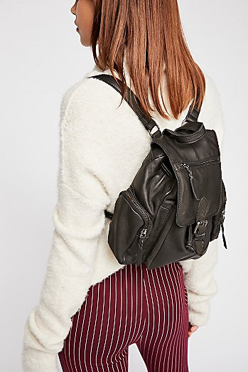 Santa Monica Leather Backpack