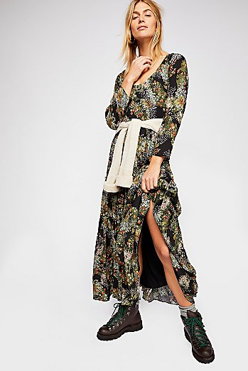 Fall In Love Maxi Dress