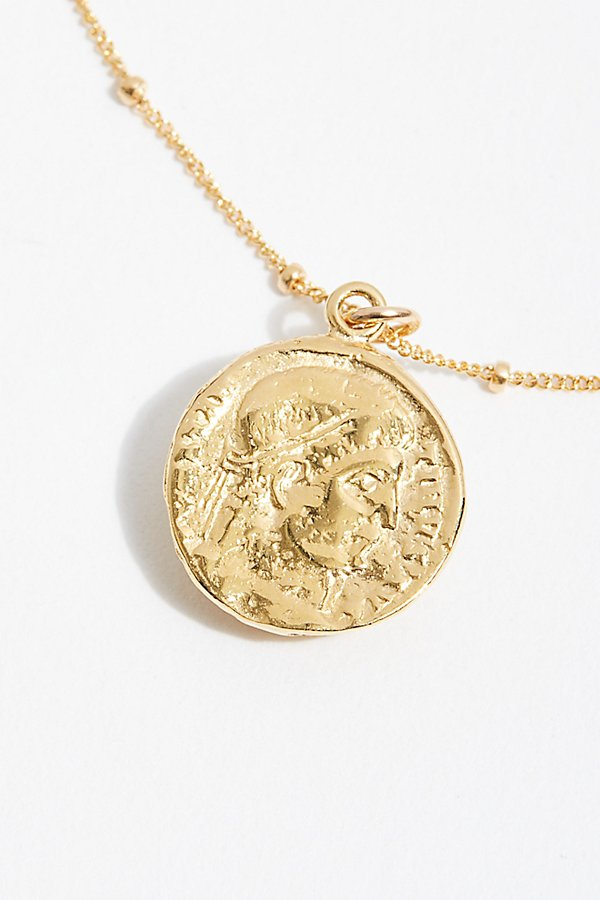 Slide View 4: Vita Coin Pendant Necklace