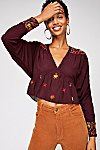 Thumbnail View 1: Ava Embroidery Blouse