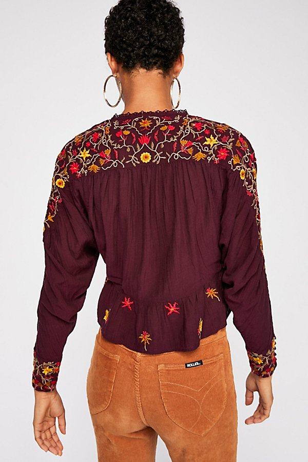 Slide View 2: Ava Embroidery Blouse