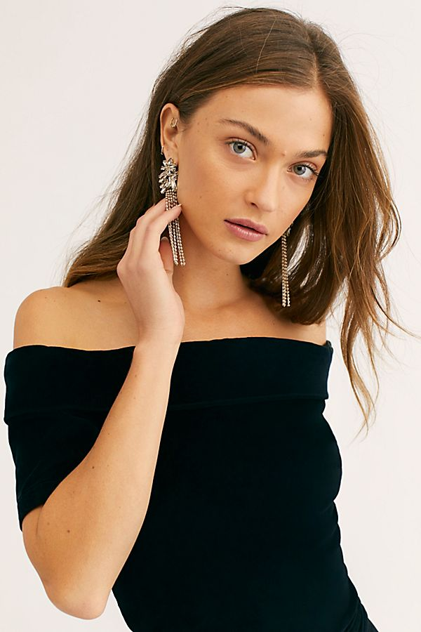 Velvet Off The Shoulder Jumpsuit Free People