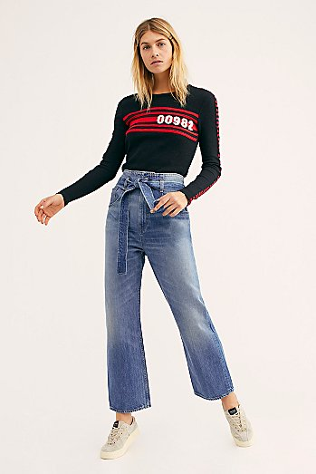 3x1 Kelly Paper Bag Jeans