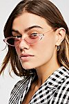 Thumbnail View 1: Pink Lady Cat Eye Sunglasses