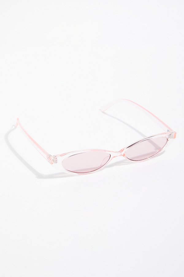 Slide View 2: Pink Lady Cat Eye Sunglasses