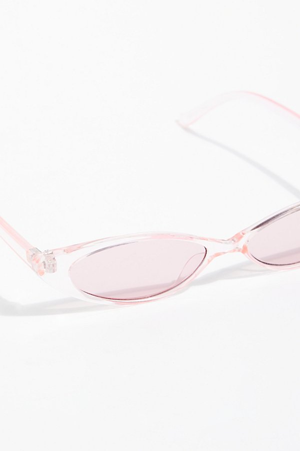 Slide View 3: Pink Lady Cat Eye Sunglasses