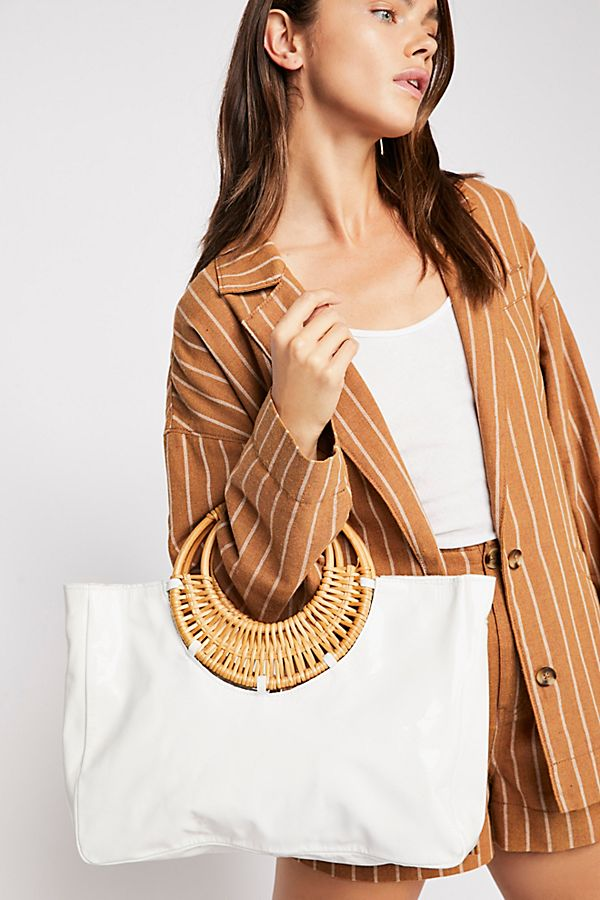 Poppy Patent Leather Tote | Free People