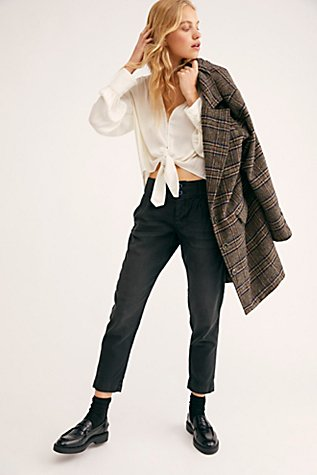 Slouchy Boyfriend Trousers by Free People