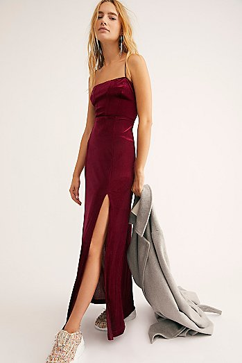 All I Need Velvet Maxi Slip