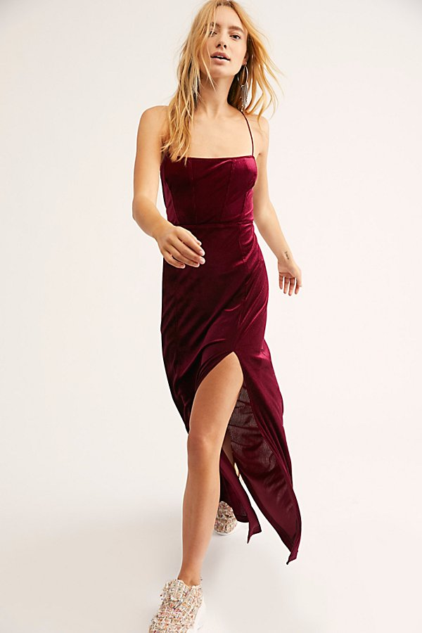 Slide View 2: All I Need Velvet Maxi Slip