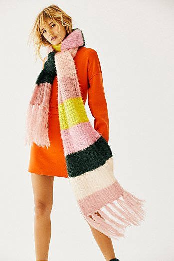 Dream Maker Stripe Scarf