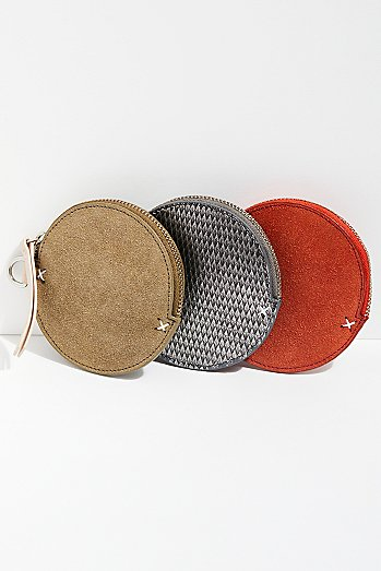 Cherie Circle Coin Pouch