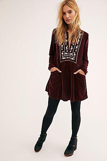 Always Forever Velvet Mini Dress fe580eea47