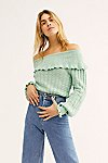 Thumbnail View 3: Crazy In Love Ruffle Jumper