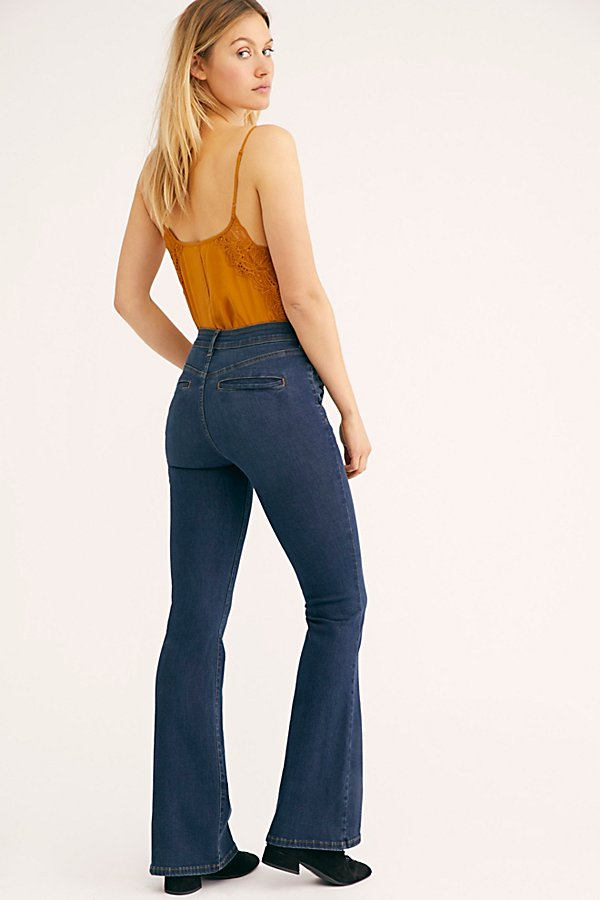 Slide View 1: Bella Slim Flare Jeans