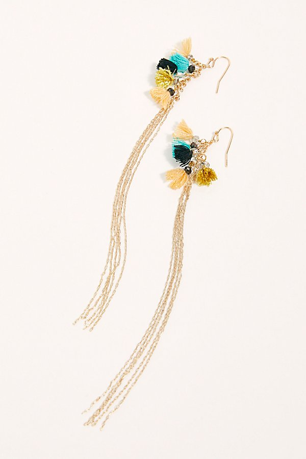 Slide View 2: Caught Dreaming Tassel Earring