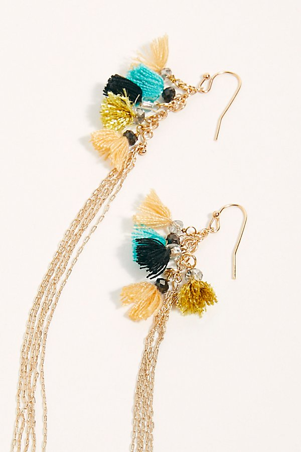 Slide View 3: Caught Dreaming Tassel Earring