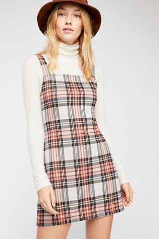 Taylor Check Mini Dress