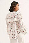 Thumbnail View 2: Falling For You Printed Blouse