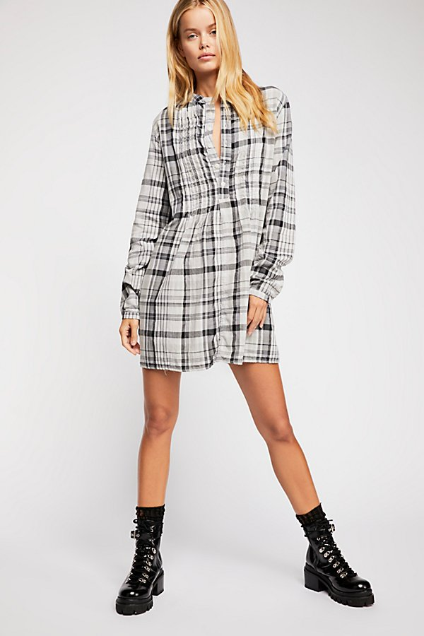 Slide View 4: Yoko Plaid Tunic
