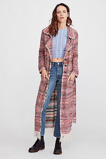 Long Sweater Coats Jackets For Women Free People