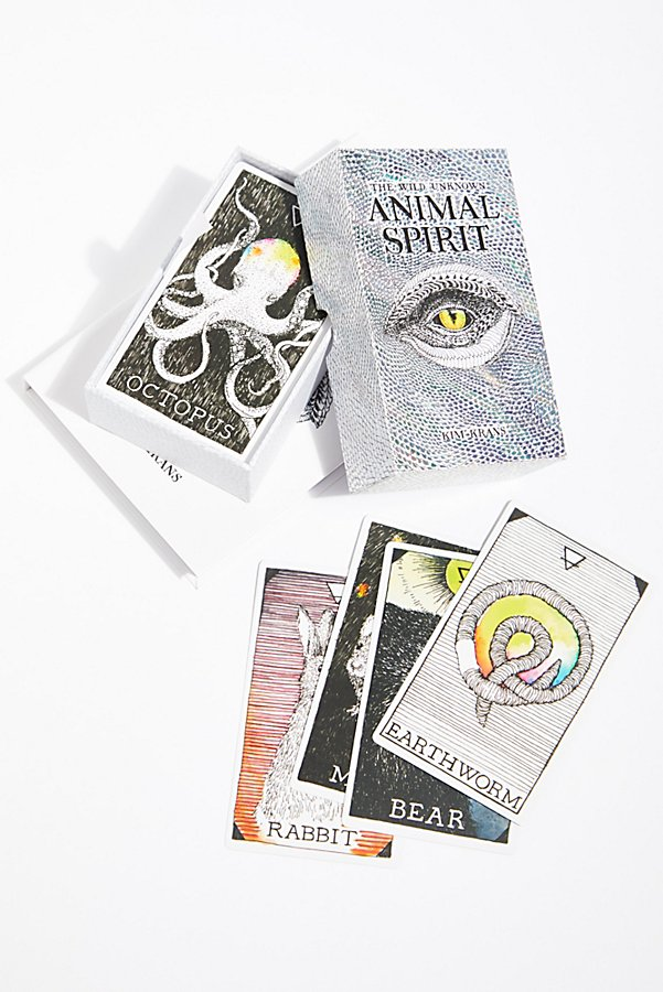 Slide View 1: The Wild Unknown Animal Spirit Deck & Guidebook
